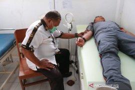 Polres MTB gelar donor darah HUT Bhayangkara ke-73