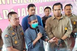 Tersangka Rahmat Baequni tidak ditahan