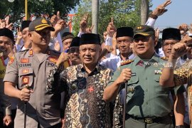 Kabupaten Malang deklarasikan Pilkades 2019 berjalan damai