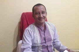 Rapat Pleno KPU Bangka Tengah dari hotel pindah ke kantor
