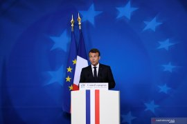 Presiden Prancis Macron: Pencalonan Uni Eropa positif bagi Eropa