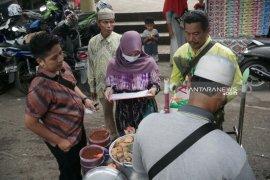 BPOM sisir pasar tradisional uji aneka pangan