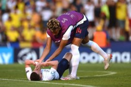 Inggris gagal ke semifinal Piala Eropa U-21