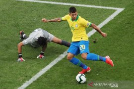Gasak Peru 5-0, Brazil maju ke perempat final