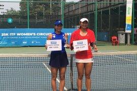 Petenis  Risa Ozaki juara turnamen Jakarta 25k