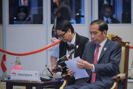 Presiden tekankan isu Rakhine State pada sesi Retreat KTT ASEAN