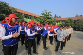 450 siswa ikuti diklat Paskibra Kota Tangerang