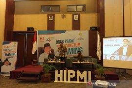 Caketum HIPMI: Perlu pembagian investor luar dengan pengusaha lokal