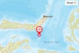 Gempa di Bolaang Mongondow terasa hingga bagian barat Gorontalo Utara