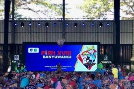1.000 peserta ikuti Perkemahan Ilmiah Remaja Nasional XVIII