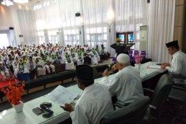 JCH Aceh kloter pertama mulai masuk asrama