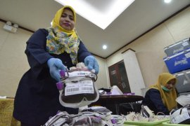 KDD Riau Kompleks Sumbangkan 6 Juta CC Kantung Darah ke PMI