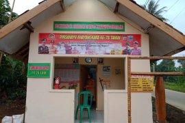 Siskamling Kampung Cicadas ditinjau Tim Polda Banten