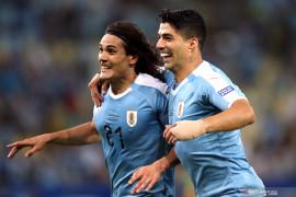 Tundukkan Chile, Cavani antar Uruguay ke perempat final