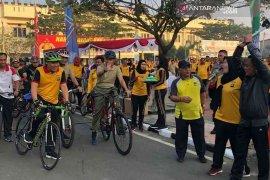 Bupati Bekasi turut meriahkan peringatan HUT Bhayangkara