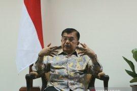Wapres Jusuf Kalla imbau halal bihalal ormas Islam di masjid