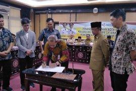 Mataram-LKBN Antara tandatangani MoU informasi publik