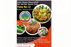 """""""Pusak Tambol"""" meriahkan HUT ke 12 Kabupaten Kayong Utara"""