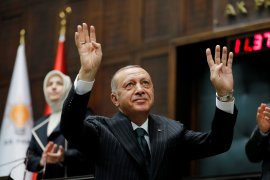 """Periksa otak mu yang mati Macron"", kata Presiden Turki"