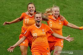 Belanda melaju ke final setelah kalahkan Swedia 1-0 di Piala Dunia Putri