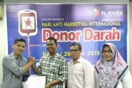 XL Axiata gelar donor darah peringati Hari Donor Darah sedunia