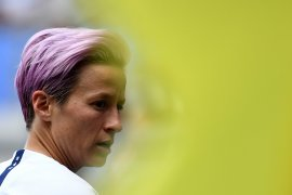 Bintang sepak bola putri AS buat marah Donald Trump