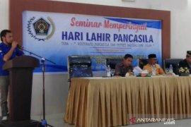 Balai PWI Abdya gelar seminar restorasi Pancasila