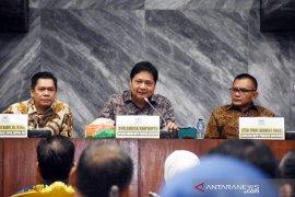 Airlangga Hartarto sampaikan selamat atas kemenangan paslon Jokowi-Ma'ruf