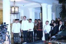 Capres Jokowi sambangi kediaman Ma'ruf Amin