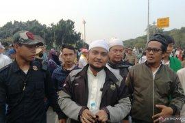 Massa aksi sidang MK tinggalkan Jalan Medan Merdeka Barat