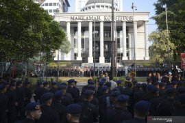 Pengamanan sidang MK diperketat
