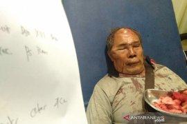 Kesal diejek 'maling', seorang pria di Medan bacok supir angkot