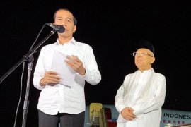 Sidang MK usai, Jokowi ajak rakyat bersatu bangun Indonesia