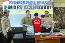 Bacok leher nelayan, warga Aceh Barat ditangkap  polisi