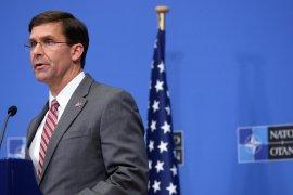 AS lantik Mark Esper sebagai Menteri Pertahanan yang baru