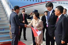 Wamenlu Jepang sambut Jokowi di Osaka Jepang
