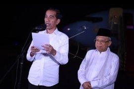 Jokowi - Ma'ruf Amin tanggapi putusan MK