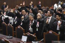 Pertimbangan Mahkamah untuk gugatan  Prabowo-Sandi