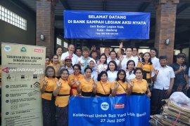 Danone, Circle K, Bali Wastu, dan DLH Bali kumpulkan limbah minuman (video)