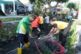 Gotong royong massal sambut Hari Jadi Kota Tebing Tinggi