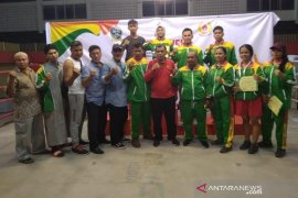 Kota Medan juara umum tinju Porprov Sumut 2019