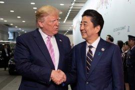 Presiden Trump minta langsung PM Abe borong produk pertanian