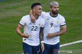 Aguero sebut Argentina kuat di babak gugur