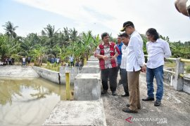 Wagub Sumut janji  Waduk Perupuk di Batubara diperbaiki