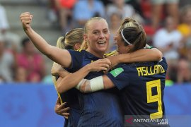 Swedia kalahkan Jerman 2-1 demi mencapai empat besar Piala Dunia Wanita