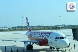 Pesawat AirAsia jadi yang perdana mendarat di Bandara Kertajati