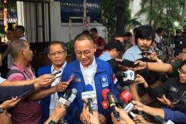 Parpol pendukung Prabowo-Sandi hadiri penetapan presiden dan wapres terpilih