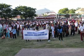 Polda Maluku Utara deklarasi Indonesia damai