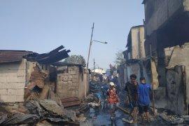 Kebakaran di Tanah Abang hanguskan 66 bangunan  warga