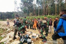 TNI AD masih lakukan pencarian helikopter M 17